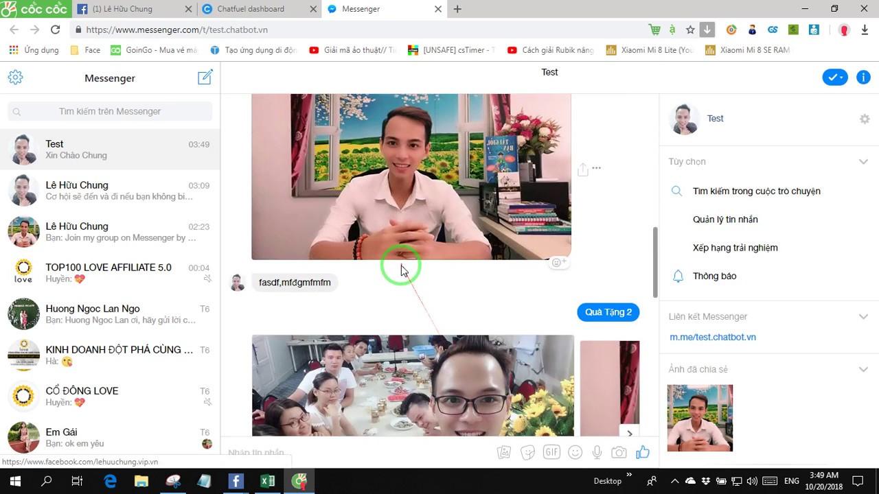 Bài 0 Dành cho người mới tiếp xúc với Chatbot hiểu về cách xây dựng các khối Block và liên kết