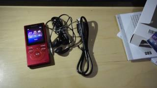 Unboxing Of Sony NW-E394: A Bang For your Buck Walkman Player