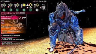 SHADOW OF WAR - UNIQUE BETRAY VICIOUS OVERLORD DIFFICULTY NEMESIS IN DESERT