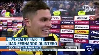 River Plate campeón Copa Libertadores 2018: golazo Juan Fernando Quintero final River 3-1 Boca goles