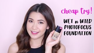 cheap try thử đồ hợp ti    wet n wild photofocus foundation