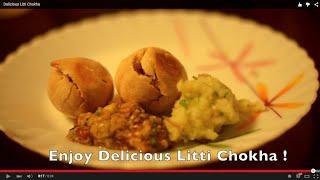 Delicious Litti Chokha in an Oven