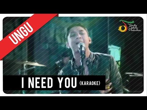 UNGU - I Need You (Karaoke) | VC Trinity