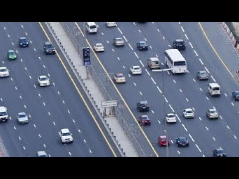Dubai to Sharjah Road trip   Dubai  4K  Dubai plus    Emirates road   UAE    urdu   
