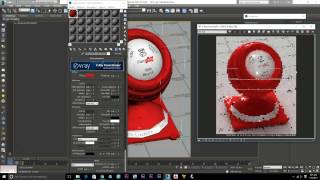 How To make Vray Material | RED Plastic Vray 3.3 | 3ds max material library download EP #14