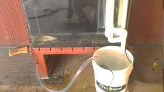 diy pvc over flow 10 gallon sump rufugium build part 2