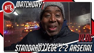 Standard Liege 2-2 Arsenal Vlog | No Such Thing As A Dead Game For A Football Fan!