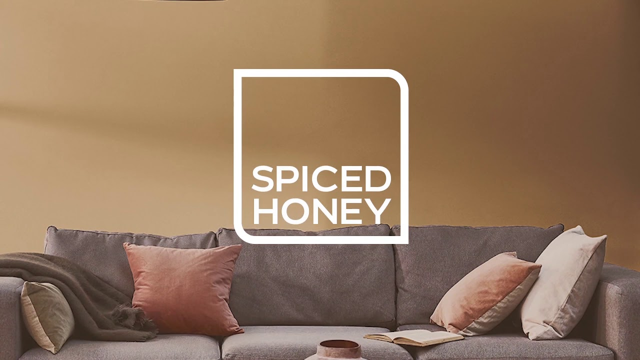 Dulux Colour Of The Year 2019 Spiced Honey Youtube