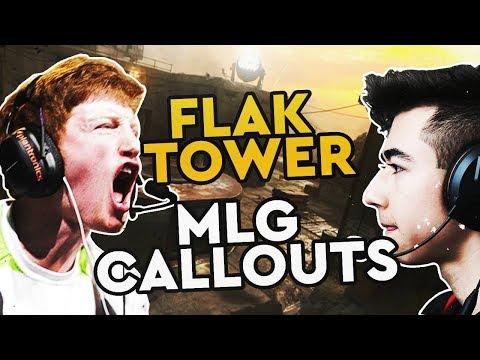 CoD WW2 MLG Callouts - Flak Tower