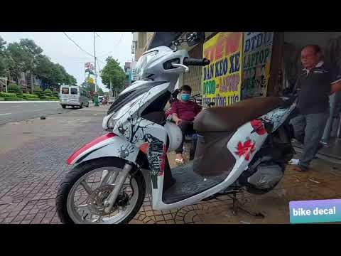 Tem trùm Vision Samurai /bike decal