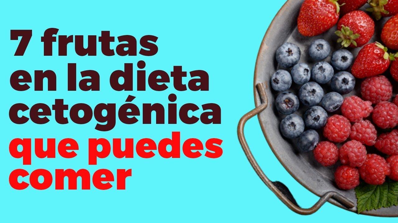 fruta en una dieta cetosis