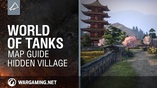 World of Tanks: Map Guide - Hidden Village