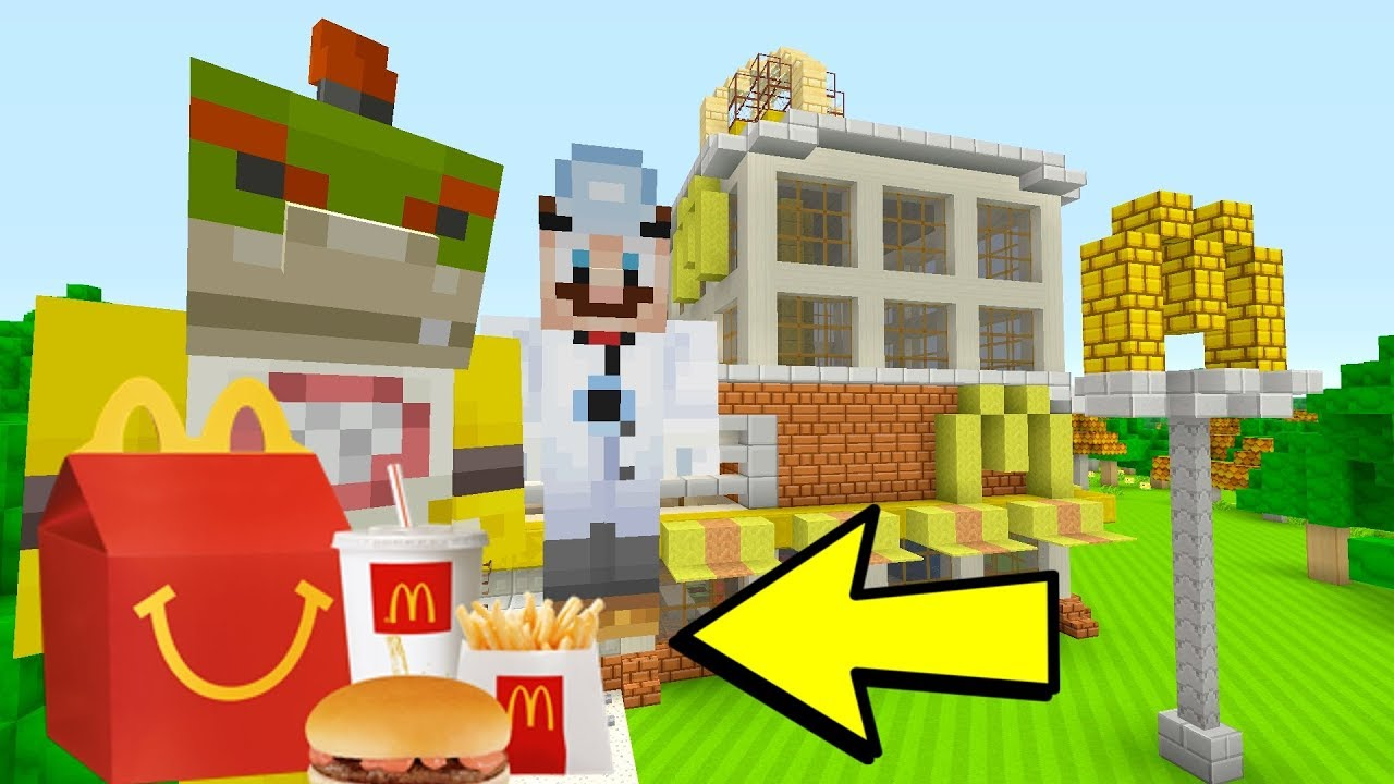 BOWSER JR'S HAPPY MEAL [McDonalds!] - Nintendo Fun House - (Minecraft Switch) [195]