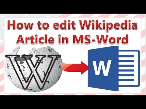 How To Edit Wikipedia Article In Word (Remove Superscripts, Remove All Hyperlinks In Word)