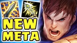 HOW IS THIS ACTUALLY OP?? CRIT GAREN JUNGLE 1-SHOT | NEW META DARK HARVEST ASSASSIN ONE-Q 1-KILL