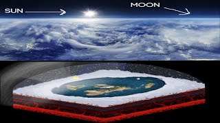 Seeing the Sun & Moon In The Sky Together Is ONLY Possible On A FLAT EARTH!!! #ResearchFlatEarth