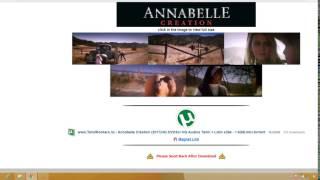 Annabelle creation full movie
