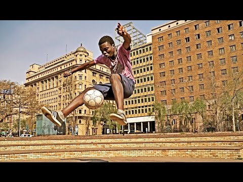 South African Soccer Freestylers - Tribute For Lesego