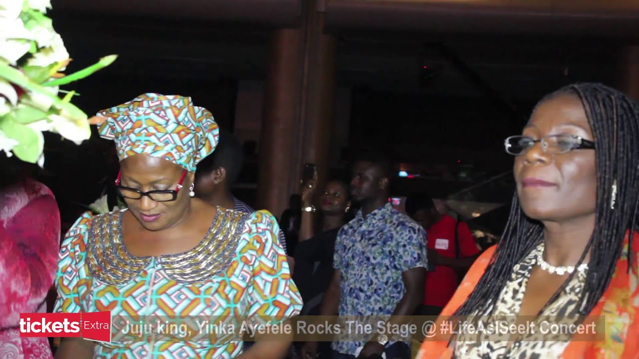 Download Yinka Ayefele Thrills Guests at Julius Agwu's Life As I See It Concert