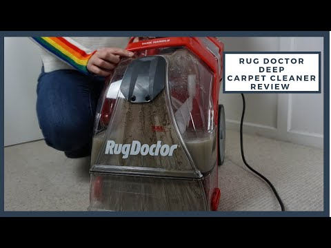 Rug Doctor Deep Carpet Cleaner Review Guest Blog By