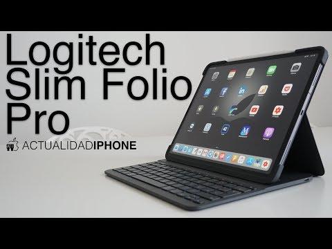 Logitech Slim Folio Pro, el mejor complemento para tu iPad Pro
