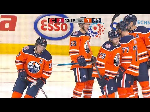 HIGHLIGHTS | Oilers 4, Flames 3