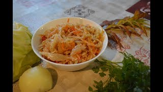 Обалденный салат из капусты, с перцем и морковью на зиму - рецепт простой, эффект крутой!