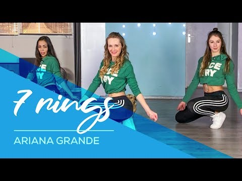 7 Rings - Ariana Grande - Easy Fitness Dance  - Choreography