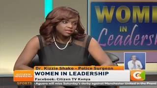 VIDEO: Women  in Leadership: Dr Kizzie Shako