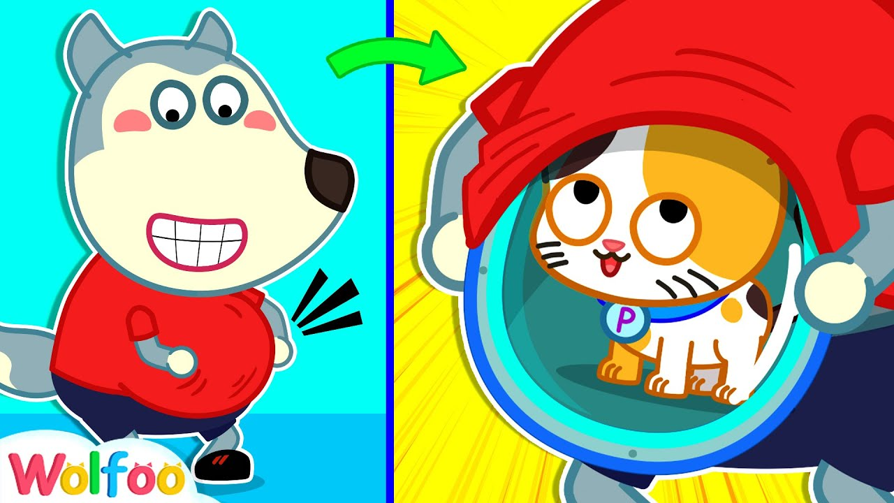 Pando Lost His Cat - Wolfoo Has a Funny Way to Hide Cat - Good Manners for Kids   Wolfoo Channel