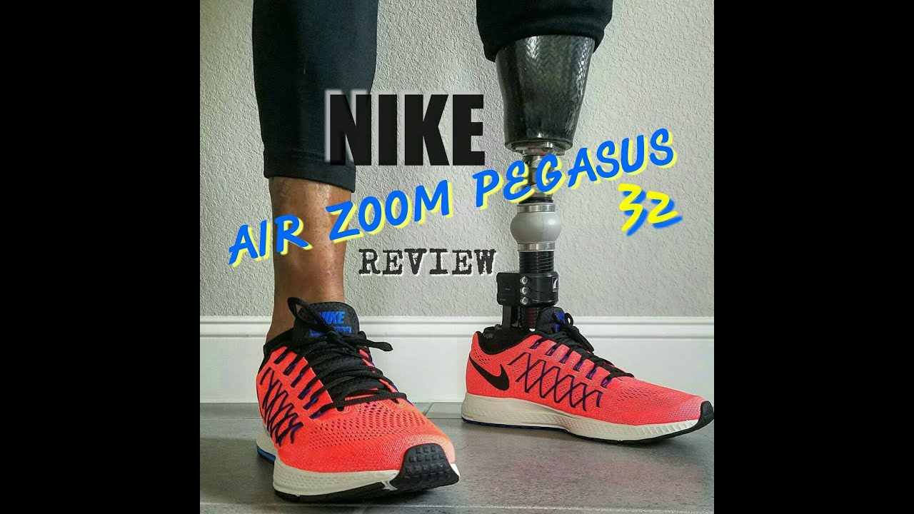 8bfc217742fe6 NIKE AIR ZOOM PEGASUS 32 REVIEW - YouTube