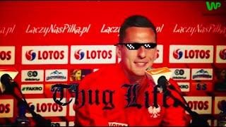 CIĘTA riposta Milika - trening z Lewandowską [EURO 2016]