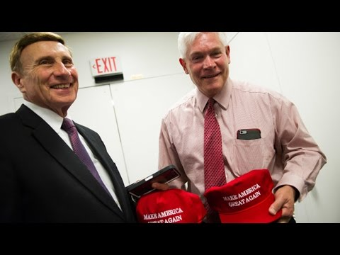Republicans Grovel At Trump's Feet