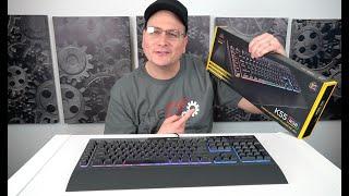 Corsair K55 Keyboard Review, Is it any good at 50$