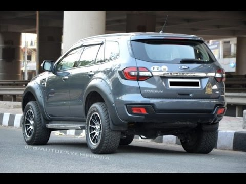 Modified Ford Endeavour From India 245 Horsepower Youtube