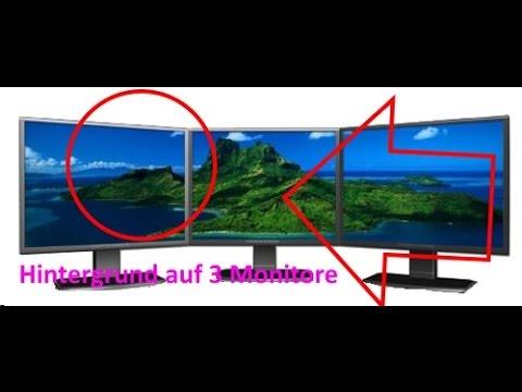 Zwei bildschirme hintergrund windows 7