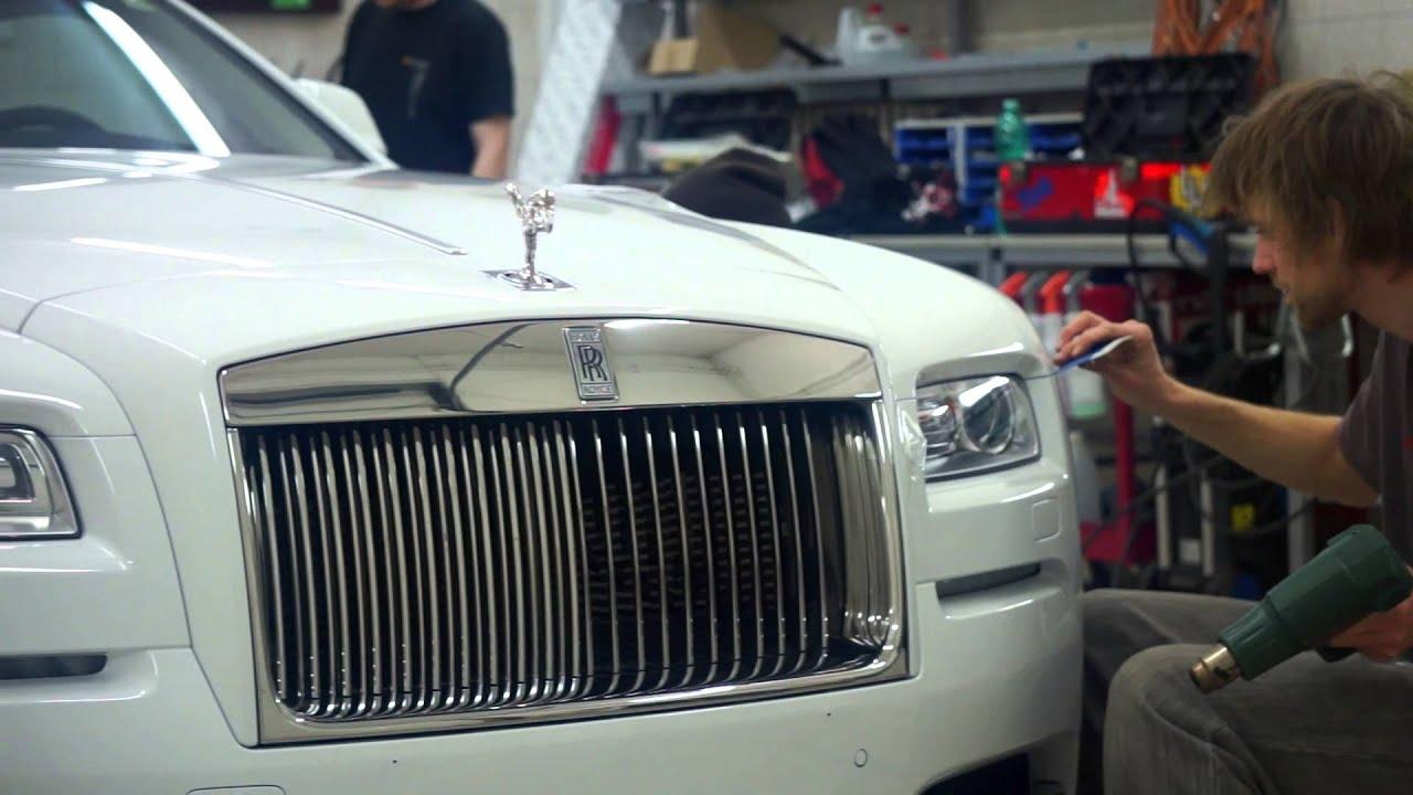 Rolls Royce Wraith TRIESTE WRAP