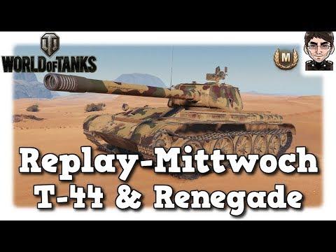 World of Tanks - T-44 & M54 Renegade, Voller Einsatz (manchmal) [deutsch   Replay]