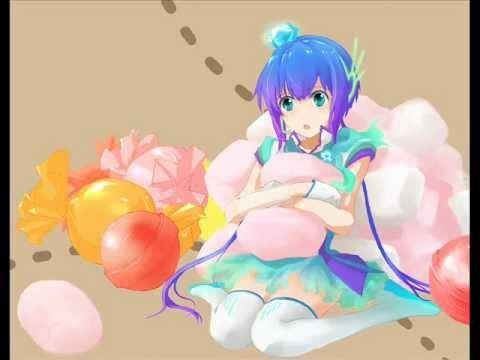 Candy Candy - Hatsune Miku Gumi Megpoid and Aoki Lapis