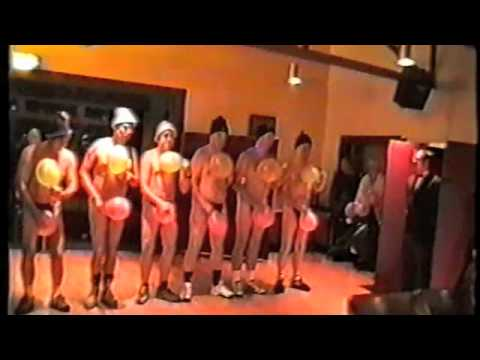 Dancing girls get naked and plunge in hot college sex 5