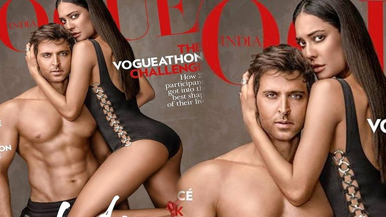 hrithik roshan and lisa haydon's hot sensuous photoshoot | vogue