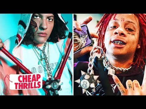 D.I.Y. Trippie Redd 8-Ball Chain | Cheap Thrills