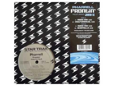 Pharrell - Frontin' (Acapella) vinyl