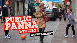 PUBLIC PANNA/NUTMEG with Leo, Woody & Kleiny
