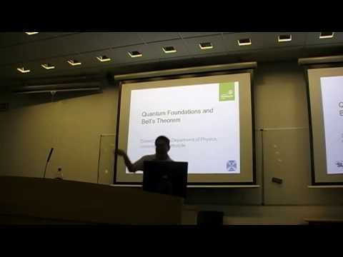 """Daniel Oi: """"Quantum Foundations and Bell Experiments"""""""