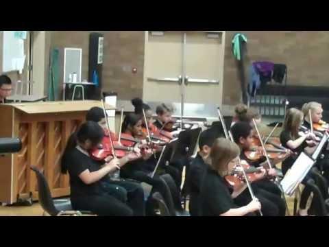 6th Grade Shahala Middle School Orchesta 2016 October