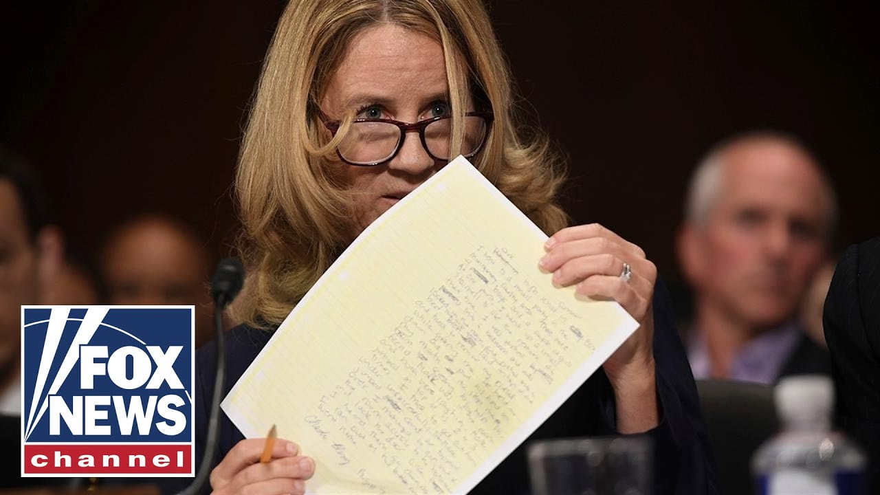 Who leaked Christine Blasey Ford's Kavanaugh letter?   YouTube