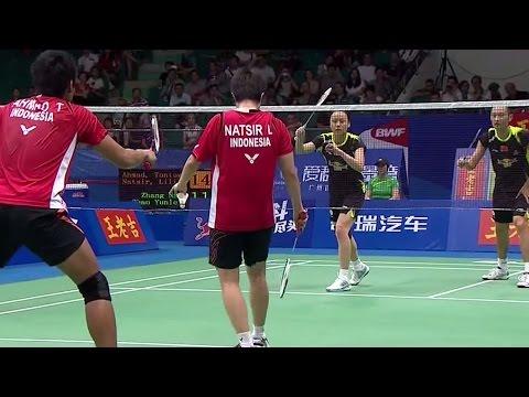T.Ahmad/L.Natsir v Zhang N./Zhao YL.|XD-SF| Wang Lao Ji BWF World Champ.2013 Mp3