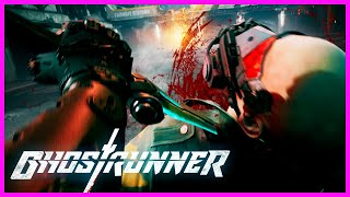 Ghostrunner - 7 Minutes Of Cyberpunk Slashing | Gamescom 2019