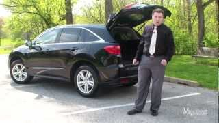 2013 Acura RDX Review, Test Drive